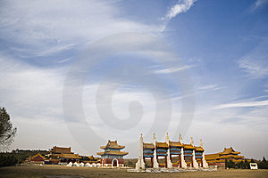 The Qing Dynasty Tomb Stock Photography - Image: 8002442