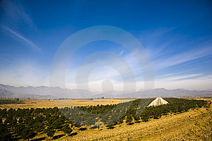 The Qing East Tombs Stock Photography - Image: 8002812