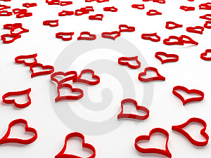 Hearts Royalty Free Stock Images - Image: 8003869