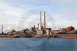 The Factory Royalty Free Stock Photo - Image: 8004215