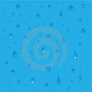 Water Drop Background Stock Photo - Image: 8006770