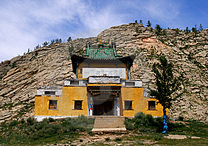 Mongolia Buddhist Temple Royalty Free Stock Photography - Image: 8008947