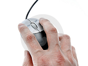 Mouse With Dedicated Buy And Sell Button Stock Photo - Image: 8010520