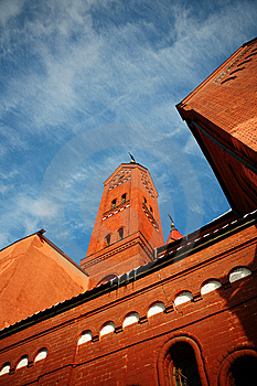 Roman Catholic Church Royalty Free Stock Photography - Image: 8011567