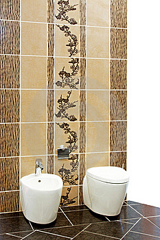 Brown Toilet Stock Photo - Image: 8011930
