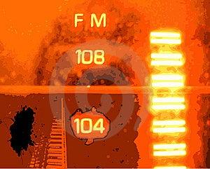 Radio Grunge Royalty Free Stock Photo - Image: 8012655