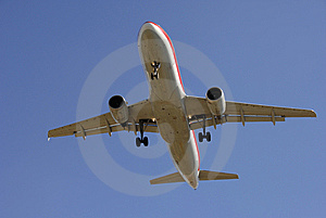 Modern Airliner Taking Off Stock Images - Image: 8013144