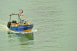 Fishing Boat Royalty Free Stock Images - Image: 8014819