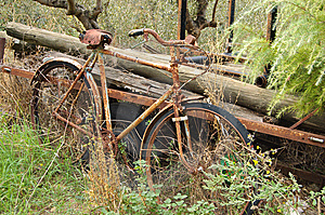Forgotten Bicycle Stock Photos - Image: 8016063