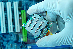 High Technology Chip Stock Photo - Image: 8017580