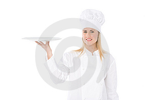 Woman chef Free Stock Photography