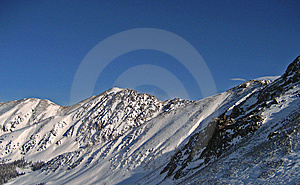 Mountain Peaks Royalty Free Stock Photos - Image: 8022328