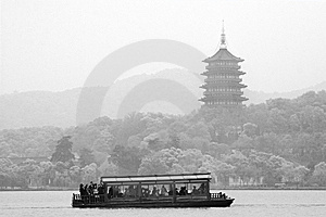 West Lake Royalty Free Stock Photography - Image: 8023677