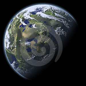 Earth Model Stock Photography - Image: 8023752