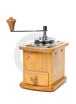 Hand Coffee-grinder Royalty Free Stock Images - Image: 8024209