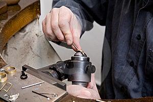 Goldsmith Stock Photography - Image: 8025242