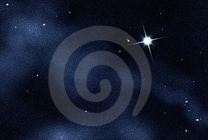 Digital Created Starfield Stock Photo - Image: 8025370