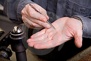 Goldsmith Royalty Free Stock Photo - Image: 8025455