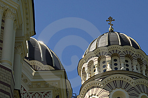 Orthodox Domes Stock Photos - Image: 8026503