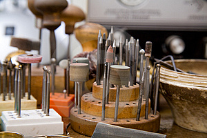 Goldsmith Tools Royalty Free Stock Photography - Image: 8027857