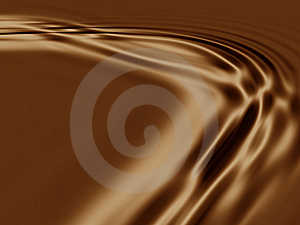 Coffee, Chocolate Caramel Texture Stock Images