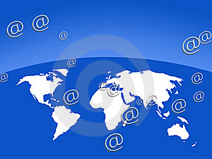 Worldwide Communications Stock Photo - Image: 8029850