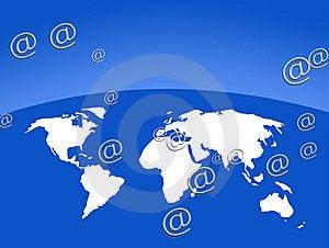 Worldwide Communications Stock Photo - Image: 8029850