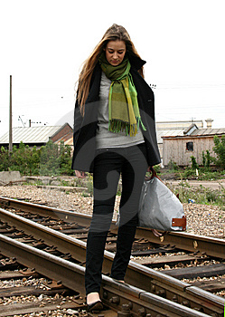 Travelling By Railroad Royalty Free Stock Photo - Image: 8029905