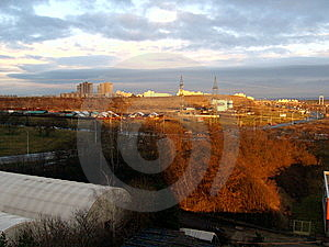 View At The Prague´s Suburbs Royalty Free Stock Images - Image: 8030659