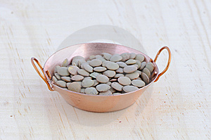 Fry Pan With Lentils Royalty Free Stock Image - Image: 8031056