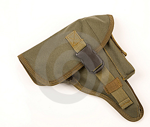 Green Holster Stock Image - Image: 8031241