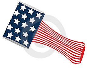 American Flag Stock Photography - Image: 8031342