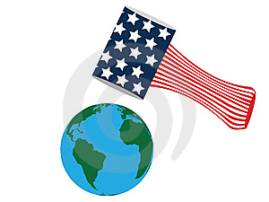 American Flag Royalty Free Stock Photos - Image: 8031378