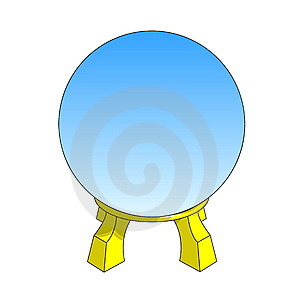 Magic ball Stock Photography