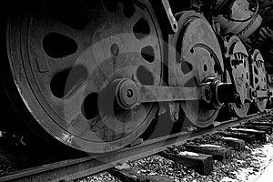 Iron Wheels Stock Image - Image: 8034391