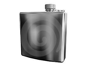 Flask Stock Image - Image: 8034411