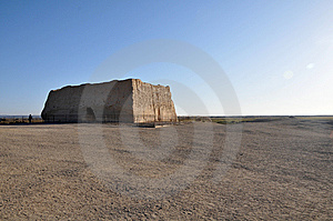 Old Blockhouse Royalty Free Stock Images - Image: 8034769