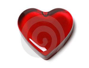 Glossy Heart Stock Photography - Image: 8035092