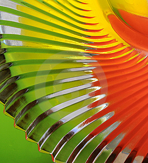 Abstract Colorful Glass Bowl Royalty Free Stock Image - Image: 8035496