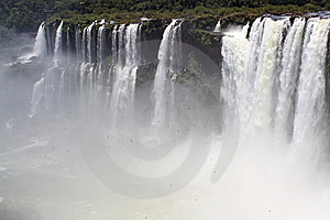 Powerful Waterfall Stock Photo - Image: 8036080