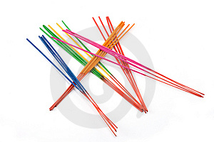 Aromatic Colour Sticks 2 Royalty Free Stock Images - Image: 8036419