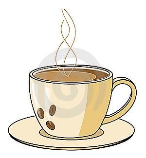 咖啡杯蒸汽 免版税库存图片 - 图片: 8037729
