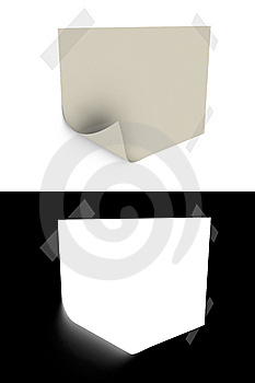 Slip Of Paper Royalty Free Stock Images - Image: 8037739