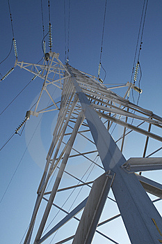High-voltage Prop. Royalty Free Stock Photos - Image: 8037918