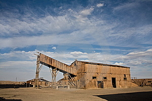 Abandoned City - Santa Laura And Humberstone Royalty Free Stock Image - Image: 8039176