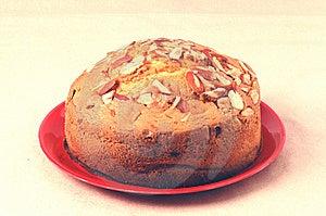 Fresh Fruit Cake Isolated Stock Photos - Image: 8039213