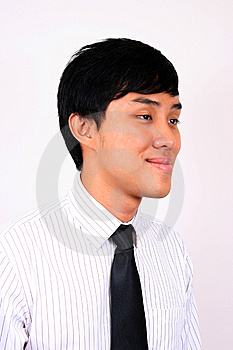 Young And Confident Asian Business Man. Royalty Free Stock Photography - Image: 8040777