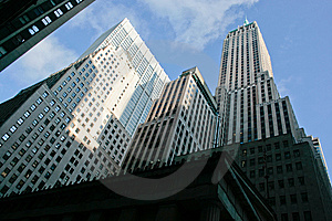 Manhattan Offices Stock Photography - Image: 8040912