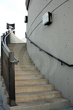 Stairs And Handrail Stock Images - Image: 8040924
