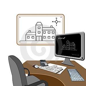 Architects Office Stock Photo - Image: 8042890